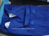 Camicia ignifuga e pantaloni del Mens riflettente del Workwear di sicurezza