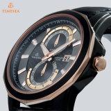 Montre élégante lumineuse superbe suisse 72232 de chronographe de montre de quartz d'acier inoxydable