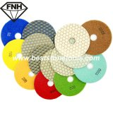 Dd-6 Stone Diamond Dry Flexible Polishing Abrasive Pad (80/100/125 / 150mm)