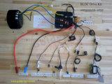 kit eléctrico del mecanismo impulsor del motor de la motocicleta de 96V 5kw con el regulador de la HPC, refrigeración por aire