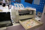 La hoja de alta velocidad automática de la escritura de la etiqueta de la etiqueta engomada que introduce adhesiva A4/A3 muere el cortador