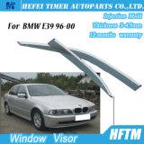 De Regen van de Wachten van de Opening van het Vizier van het Zijruit van het Chroom van de zon voor BMW E39 96-00