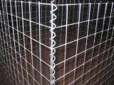 Glavanized soldou a caixa de Gabion/gaiolas de Gabion/engranzamento de fio soldado Gabion