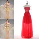 A - linha/vestido Sequined baile de finalistas da princesa Querido Assoalho-Comprimento Tulle com perolização