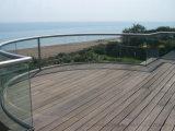 Im Freienbalkon-U-Profilstäbeglasgeländer, Aluminium U gründete Kanal-Balustrade für Treppe