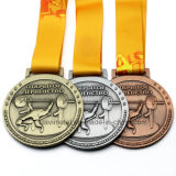 صنع وفقا لطلب الزّبون معدن [ويغتليفتينغ] رياضة مكافأة وسام مع وشاح