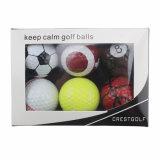 新型のおかしいゴルフ・ボールの一定のスポーツの球セット