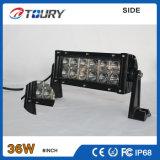 Barra clara do auto trabalho do competidor dobro do diodo emissor de luz da fileira 36W para Truck/SUV/ATV