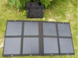 панель солнечных батарей ткани фотоэлемента 50W Sunpower складывая для поручать батарею электрического оборудования