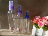 бутылка 80ml 100ml 150ml 250ml прозрачная пластичная с спрейером (PETB-11)