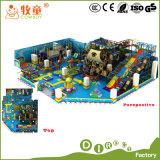 Campo da giuoco molle dell'interno e trasparenza esterna della strumentazione delle attrezzature di Kidergarten e gioco rampicante galvanizzato