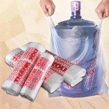Saco de compra plástico personalizado biodegradável do t-shirt do PE barato por atacado