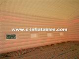 カスタマイズされるイベントのためのLEDの照明の巨大で膨脹可能な立方体のテント