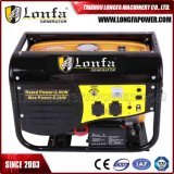 2.5kVA 6.5HP beweglicher Treibstoff-Benzin-Generator Genset