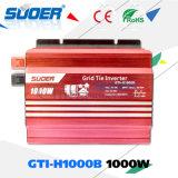Suoer 1000W 24V 230V en el inversor de la energía solar de la red con la tecnología de MPPT (GTI-H1000B)
