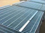 Reja de acero industrial galvanizada de la INMERSIÓN caliente para la calzada del suelo