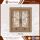 Porte évaluée de porte de Chinois-Type de bronze d'incendie de cuivre de porte