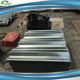 Folha galvanizada do Decking do piso de aço usada como o assoalho dos edifícios