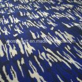 Tela de confeção de malhas do projeto do teste padrão camuflar
