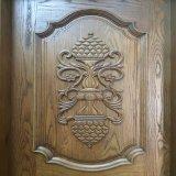 Домашняя твердая деревянная одиночная высекая дверь (GSP2-007)