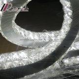 Luz de teto de cristal do anel da personalidade K9 do diodo emissor de luz para o hotel