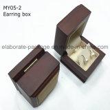 Cadre de bijou fabriqué à la main réputation promotionnelle de bois dur de cuir de contact doux de bonne