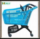 쇼핑 카트 175 리터 모든 플라스틱 슈퍼마켓 Mjy-CPP175