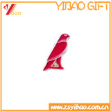 Pin fait sur commande de broche de Pin de revers en métal de Logodesign de fini avec l'insigne (YB-HD-128)