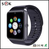 2016 Sek-beste Preis Fabrik kundenspezifische Manufactoring intelligente Sport-Uhr Gt08 mit Bluetooth Kamera