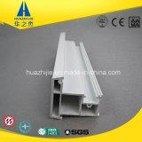 Estilo Hsp60-17c Azul Blanco Europea PVC Perfil de ventana del parteluz