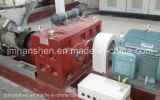 Máquina que sopla de la película plástica de la rotación de la tracción de la capa