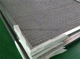 Filtre à air brut de panneau de maille lavable en métal pour le système de filtration de réfrigérateur
