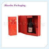 Rectángulo profesional del vino de la boda de papel de la cartulina