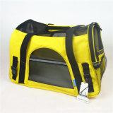 O cão tomado o partido macio Foldable do curso carreg o saco de portador expansível do animal de estimação dos sacos do armazenamento