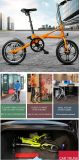 Ruedas de la bici dos de 16 pulgadas plegables la bici portable