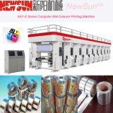 Maquinaria de impresión automatizada serie del fotograbado del papel de aluminio del carril del Montaje-e