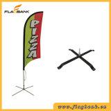 Bandeira de praia de alumínio da impressão de Digitas do Tradeshow/bandeira da pena