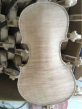 Скрипка шеи задней стороны клена Sinomusik славная вычисляемая Unvarnished
