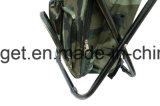 Folding Chair dobrável camuflagem Mochila Cooler Bag 3 em 1 tamborete Pesca portátil e uma cadeira Sports