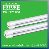 14W T8 Emergency LED Tube Lamp com AC85-265V / 50-60Hz