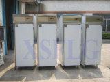 Refrigerador y congelador comerciales verticales de la cocina del supermercado del acero inoxidable 304