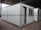 a casa do recipiente de 20ft/pré-fabricou a casa/casa modular
