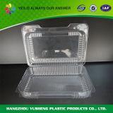 Прозрачный контейнер коробки упаковки хлебопекарни