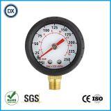 Gaz ou Liqulid de mesure de manomètre de résistance aux chocs 004