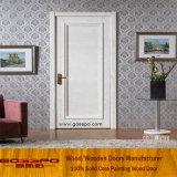 Дверь белого фронта обеспеченностью MDF краски деревянная (GSP8-031)