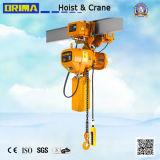 élévateur à chaînes électrique de Brima de la réputation 3t élevée avec le chariot électrique