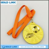3D a gravé les métiers faits sur commande de récompense du football de médailles de médaille de sports