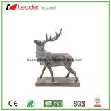 Estátua calma da escultura dos cervos de Polyresin para a decoração da HOME e do jardim