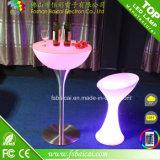 LEDによって照らされる棒低い小テーブル(BCR-312T)