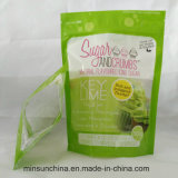 Полиэтиленовый пакет упаковки застежки -молнии для еды сахара кокоса